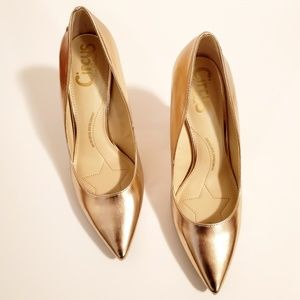 Circus by Sam Edelman Rose Gold Mina Pump Heels